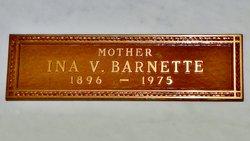 Ina V. Barnette