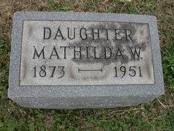 Matilda Wilhelmina Tillie Hanf