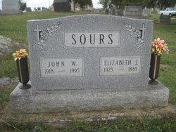 Elizabeth Jane <i>Mauck</i> Sours