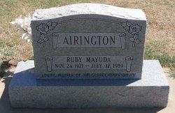 Ruby Mayuda Airington
