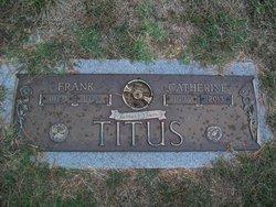 Catherine Margaret <i>Fritz</i> Titus
