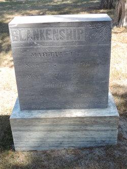 Martin F Blankenship
