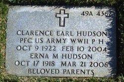 PFC Clarence Earl Hudson