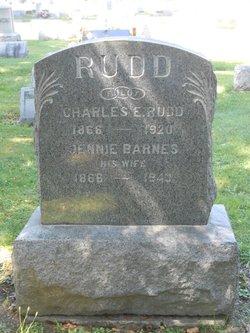 Jane Jennie <i>Barnes</i> Rudd