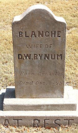 Blanche <i>Rogers</i> Bynum