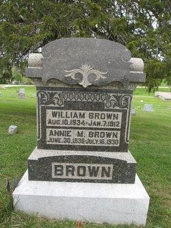 Annie M <i>Close</i> Brown