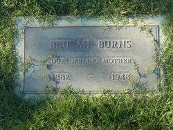 Beulah Lucretia <i>Barnard</i> Burns