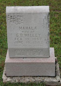 Mahalia <i>Freeman</i> Walley