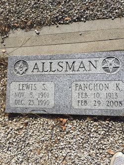 Fanchon K <i>Hicks</i> Allsman