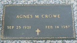 Agnes M Crowe