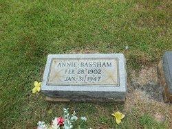 Matilda Ann Annie <i>Newton</i> Bassham