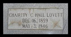 Charety C. <i>Hall</i> Lovett