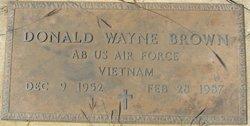 Donald Wayne Brown