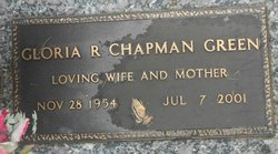 Gloria R <i>Chapman</i> Green