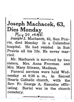 Joseph John Machacek