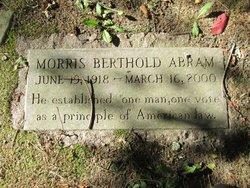 Morris Berthold Abram