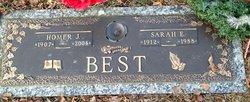 Sarah Elizabeth <i>Eisenhuth</i> Best
