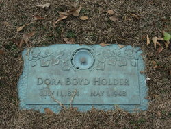 Dora <i>Boyd</i> Holder