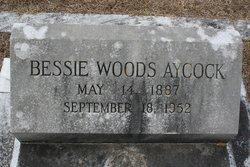 Bessie <i>Woods</i> Aycock
