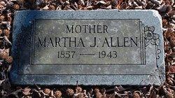 Mrs Martha Jane <i>Reeves</i> Allen