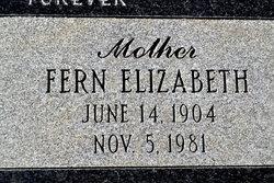 Fern Elizabeth <i>McFarlane</i> Cooley