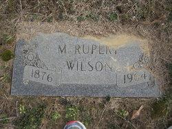 M Rupert Wilson
