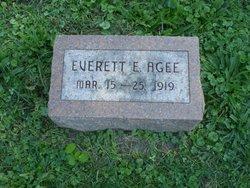 Everett Eward Agee