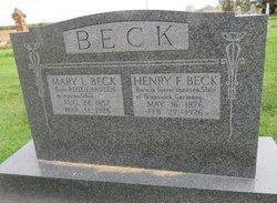 Henry F Beck