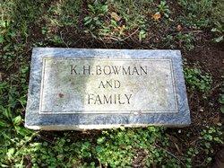 Mrs Armilda Mildred <i>Hendericks</i> Bowman