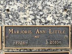 Marjorie Ann <i>Walk</i> Little