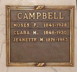 Clara Melvina <i>Robison</i> Campbell