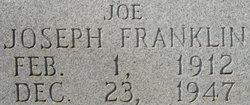 Joseph Franklin Joe Hipp