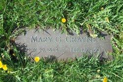 Mary A. <i>Gordon</i> Crayne