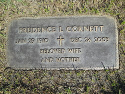 Prudence Laurel <i>Curtis</i> Cornett