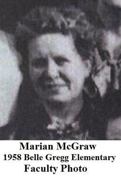 Marian L. <i>Hinchman</i> McGraw