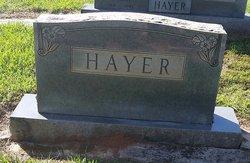 Elvin Lee Hayer