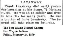 Frank Lavanway