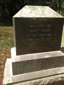 Mary E. <i>Merrill</i> Mann