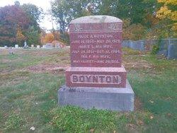 Ina F <i>Putney</i> Boynton