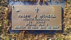 Ralph J McNeill