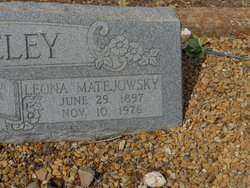 Leona <i>Matejowsky</i> Whiteley