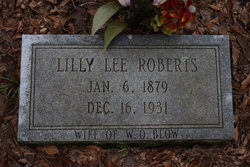 Lilly Lee <i>Roberts</i> Blow