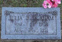 Julia Bertha <i>Perkins</i> Durham