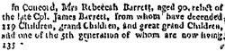 Rebecca <i>Hubbard</i> Barrett