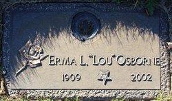 Irma L. Lou <i>Allison</i> Osborne
