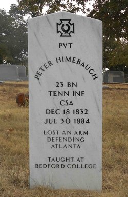 Pvt Peter Himebaugh