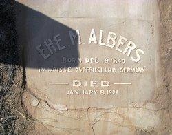Ehe <i>Mennen</i> Albers