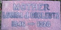 Louisa J <i>Crumbaker</i> Coblentz