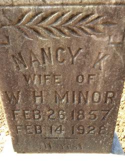 Nancy K. <i>Brasher</i> Minor