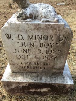 W. D. Juneboy Minor